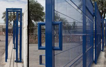Portones Corredizos de Reja de Acero Instalación Alineación de las Hojas