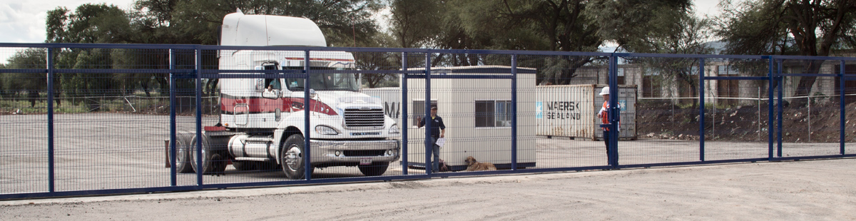 Portones Corredizos de Reja de Acero Querétaro